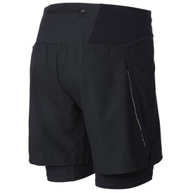"inov-8 Race Elite 7"" shorts Herrer, sort"